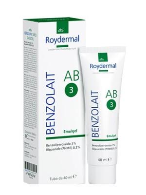 Benzolait AB3 Emulgel Trattamento Pelli Grasse e Acneiche 40 ml
