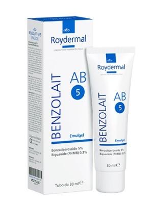 Benzolait AB5 Emulgel Trattamento Pelli Grasse e Acneiche 40 ml
