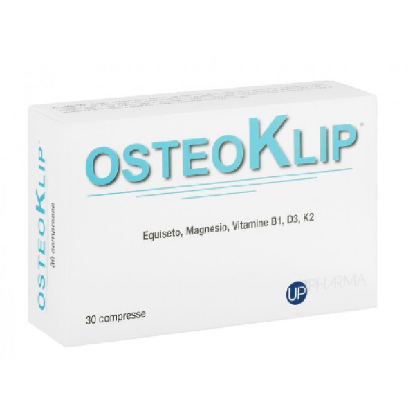 Osteoklip 30 Compresse - Integratore Alimentare