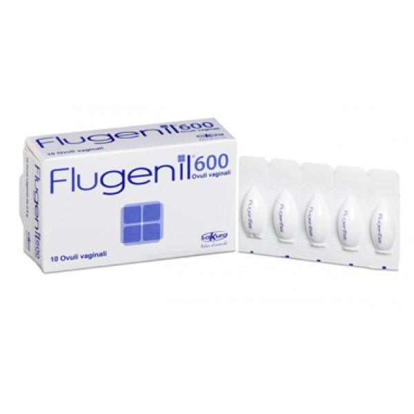 Flugenil 600  10 Ovuli Vaginali Antimicotici