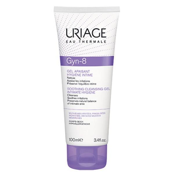 Uriage Gyn-8 Gel Detergente Lenitivo Igiene Intima 100 ml