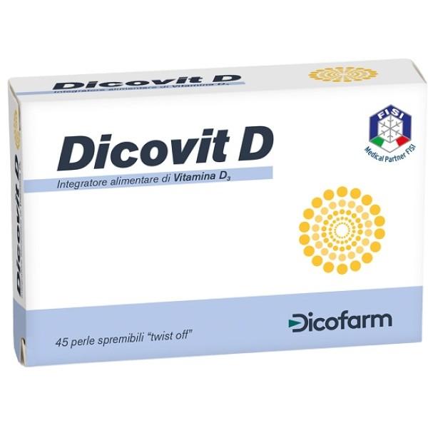 Dicovit D 45 Perle - Integratore Vitamina D Bambini
