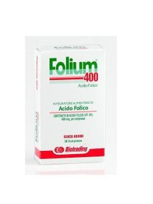 Folium 400 30 Compresse - Integratore Acido Folico