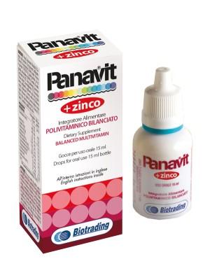 Panavit Gocce 15 ml - Integratore Alimentare
