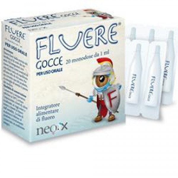 Fluere per Reintegrare il Fluoro Gocce 20 Fiale Monodose