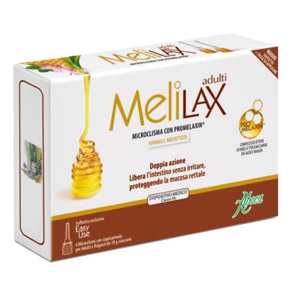 Aboca Melilax Adulti Microclisma Evacuativo 6 Pezzi