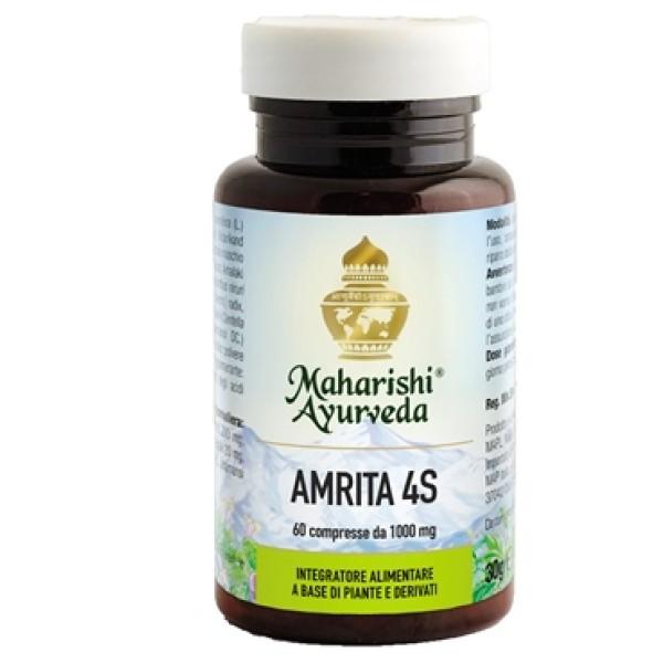 Amrita 4S 60 grammi - Integratore Antiossidante Senza Zucchero