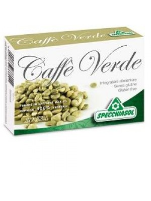 Specchiasol Caffe' Verde 30 capsule - Integratore Alimentare