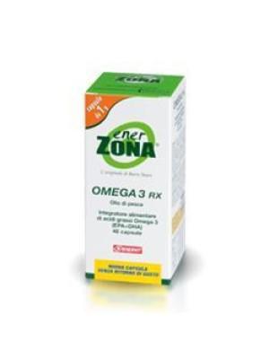 Enerzona Omega 3RX 48 Capsule - Integratore di Acidi Grassi
