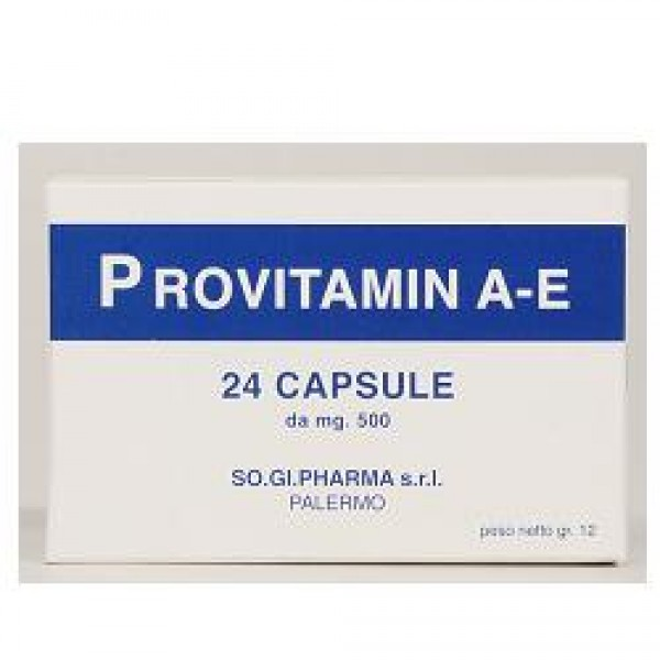 Provitamin A-E 24 Capsule - Integratore Multivitaminico