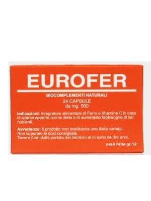 Eurofer 24 Capsule - Integratore di Ferro e Vitamina C