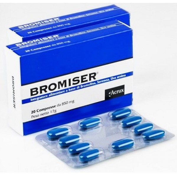 BROMISER 20 Cpr 850mg