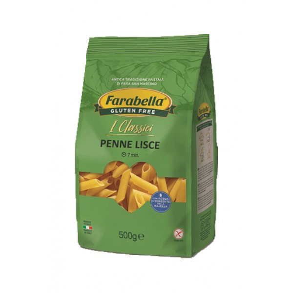 Farabella Senza Glutine Penne Lisce 500 grammi
