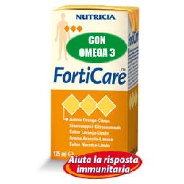 Forticare Integratore Nutrizionale Gusto Cappuccino 4 x 125 ml