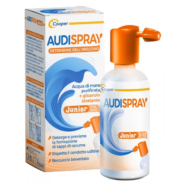Audispray Junior - Igiene dell'Orecchio 25 ml