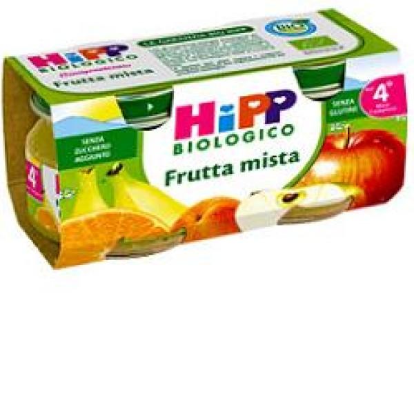 Hipp Bio Omogeneizzato Frutta Mista 2 x 80 grammi