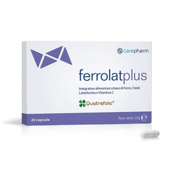 Ferrolat Plus 20 Capsule - Integratore Alimentare