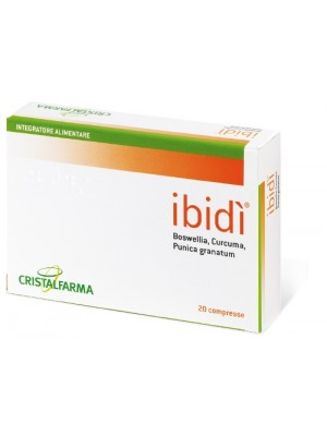 Ibidi' 20 Compresse - Integratore Intestinale