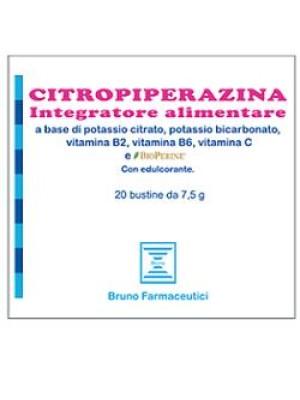 Citropiperazina 20 bustine - Integratore Alimentare