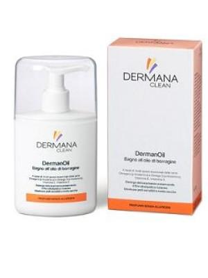 Dermana Clean DermanOil Olio da Bagno Idratante 200 ml