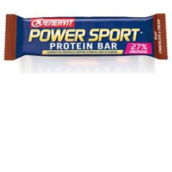 Enervit Power Sport Protein Cioccolato e Crema Barretta Proteica 45 grammi