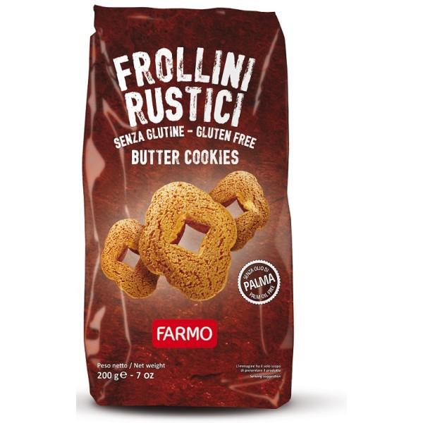FARMO Frollini Rustici S/G 200g