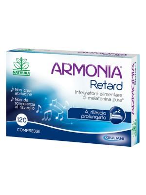 Armonia Retard Integratore Alimentare Melatonina per il sonno 120 compresse