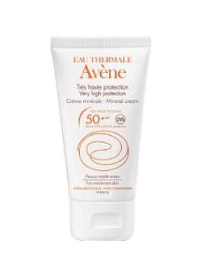 Avene Solare Crema Schermo Minerale SPF 50+ Protezione Viso 50 ml