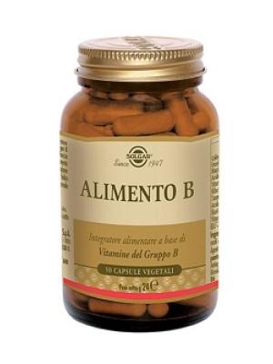 Solgar Alimento B 50 Capsule - Integratore Vitamine Gruppo B