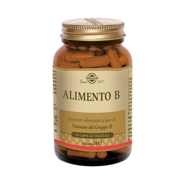 Solgar Alimento B Integratore Vitamine Gruppo B 50 Capsule