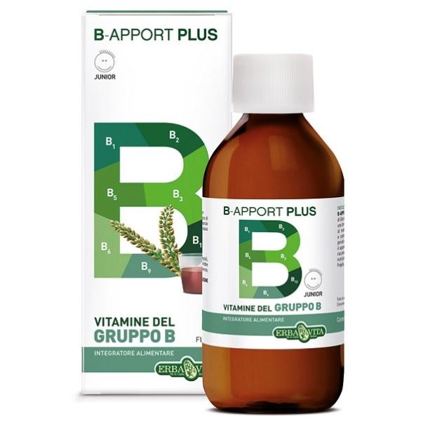 Erba Vita B-Apport Plus Sciroppo 200 ml - Integratore Vitamina B