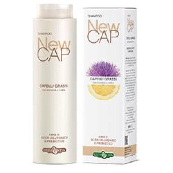 Erba Vita Newcap Shampoo Capelli Grassi Seboregolatore e Purificante 250 ml