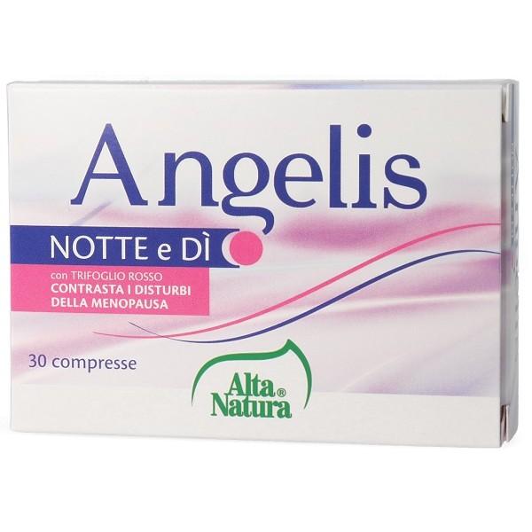 Angelis Notte e Di' 30 Compresse - Integratore Menopausa