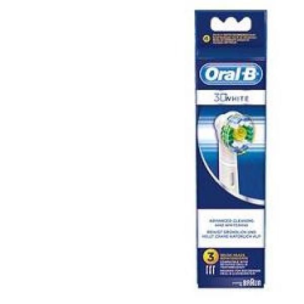 Oral-B 3D White 3 Testine Ricambio Spazzolino Elettrico