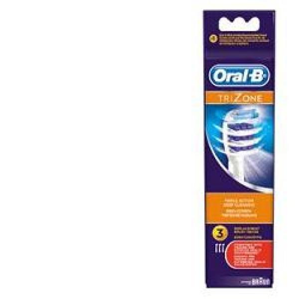 Oral-B Trizone Testine di Ricambio 3 Pezzi