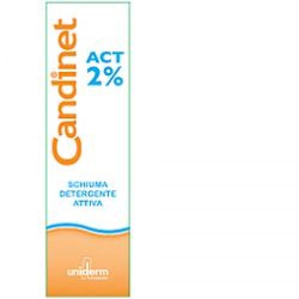 Candinet Act 2% Schiuma 150ml