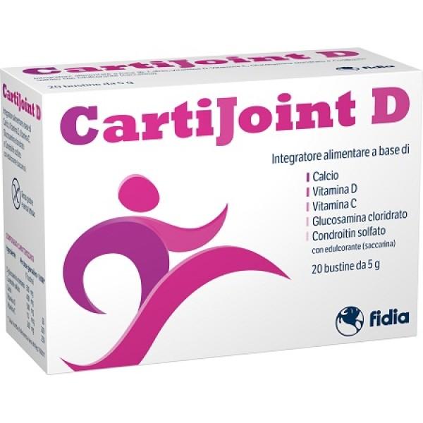 CartiJoint D Integratore Ossa e Articolazioni Donna 20 Bustine
