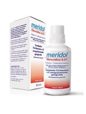 Meridol Collutorio Trattamento Gengive Infiammate Clorexidina 0,2% 300 ml