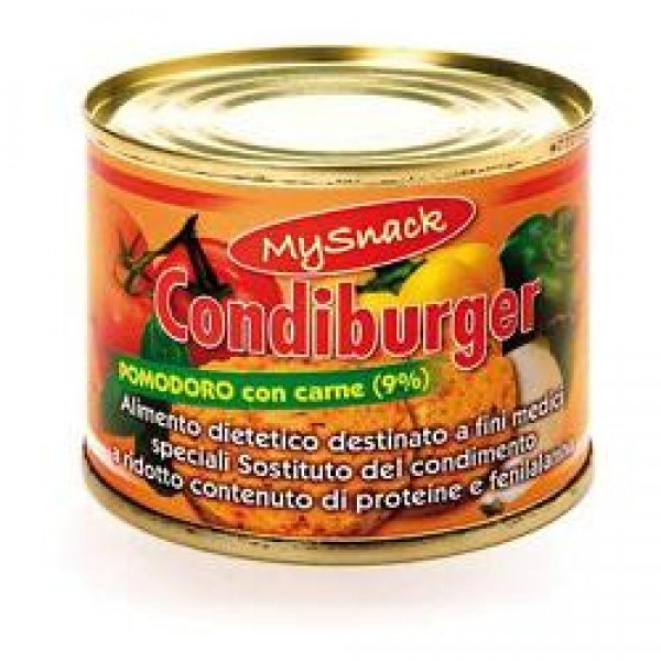 MY SNACK Condiburger Pomodori Carne