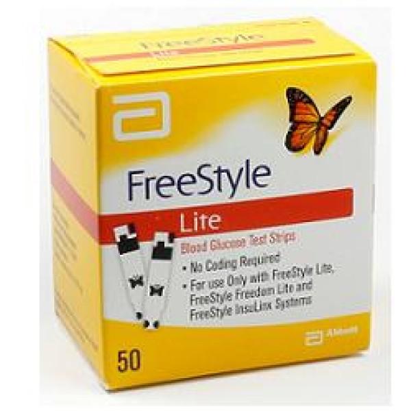 Freestyle Lite Strisce Reattive Glicemia 50 pezzi