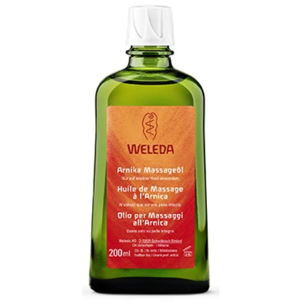 Weleda Arnica Olio Massaggio Corpo 200 ml