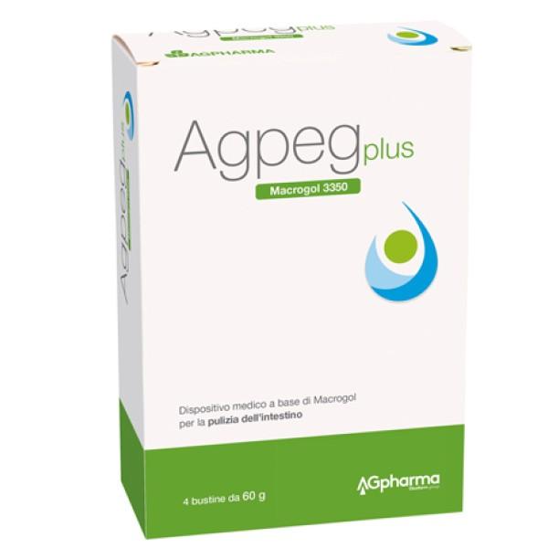 Agpeg Plus 4 Bustine - Integratore Lassativo