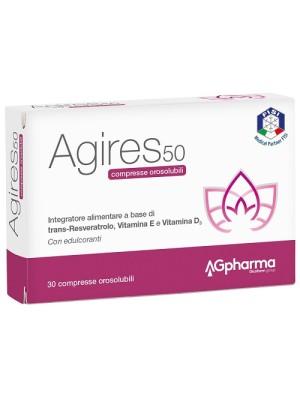 Ag-Res 50 30 Compresse Orosolubili- Integratore Menopausa