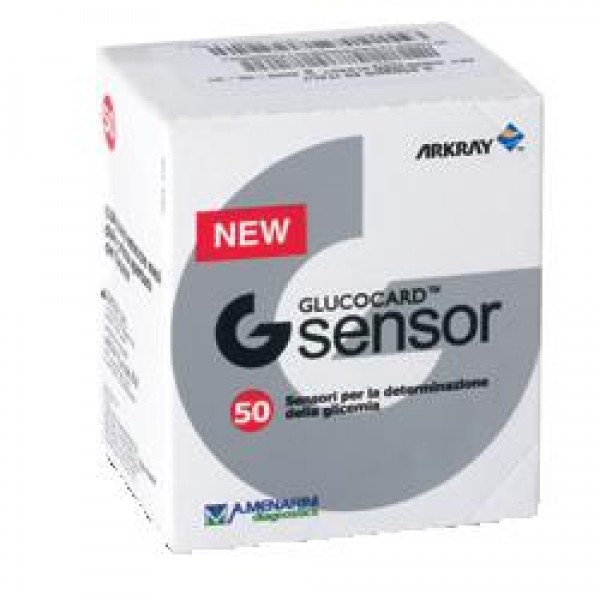 Glucocard G Sensor Strisce Reattive Glicemia 50 Pezzi
