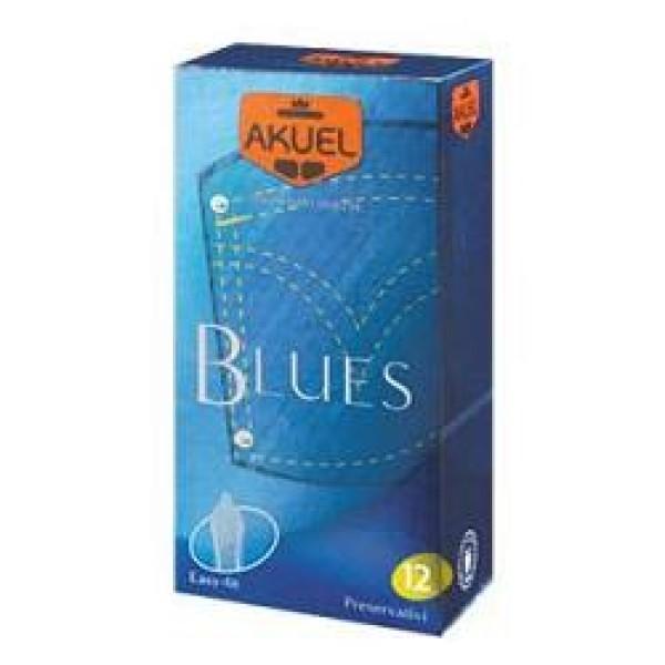 Akuel Blues 12 Profilattici dal Comfort Elevato