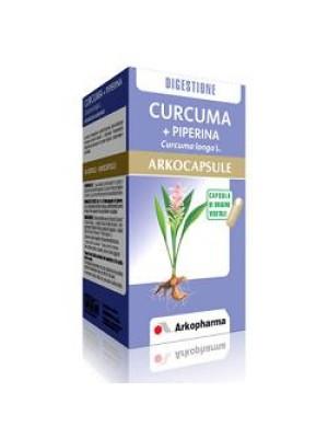 Arkocapsule Curcuma + Piperina 45 Capsule - Integratore Articolare