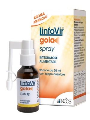 LinfoVir Gola Spray 30 ml - Integratore Alimentare