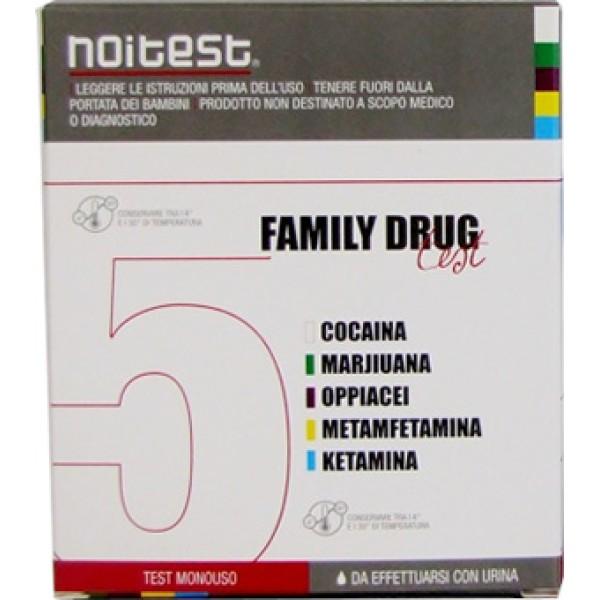 FAMILY DRUG Test Droga 5 Sost.