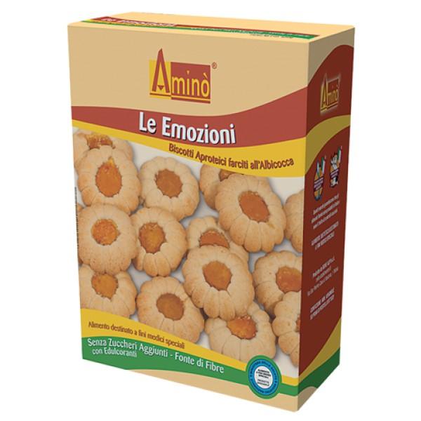 Amino' Le Emozioni Biscotti Aproteici all'Albicocca