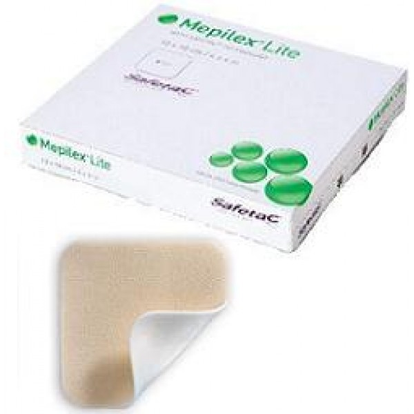 Mepilex Lite Medicazione 10 x 10 cm 5 pezzi